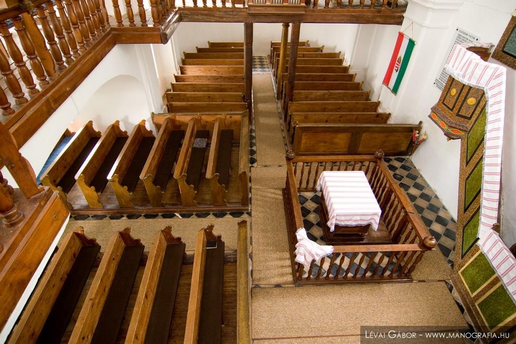 Református templom szószéke